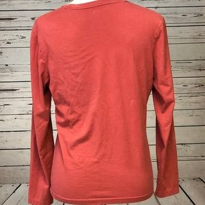 The North Face Tops - North Face A5 Series Large Orange Long Sleeve Tee